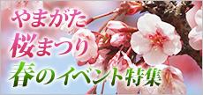 山形桜まつり・春のイベント特集