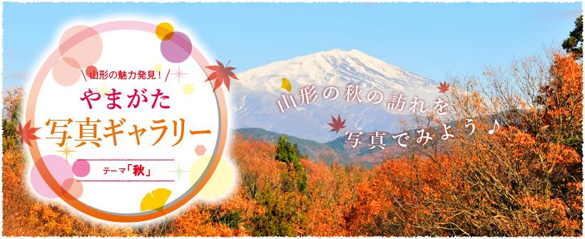 山形の魅力発見!やまがた写真ギャラリー テーマ「秋」 山形の秋の訪れを写真でみよう