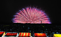 酒田花火ショー2015