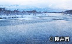 冬の最上川