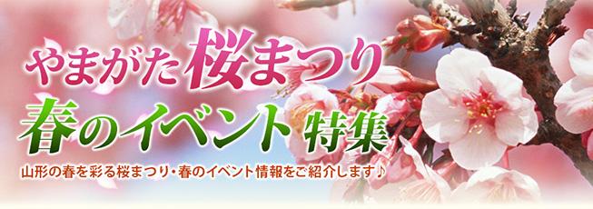 やまがた桜まつり・春のイベント特集 山形の春を彩る桜まつり・春のイベント情報をご紹介します♪